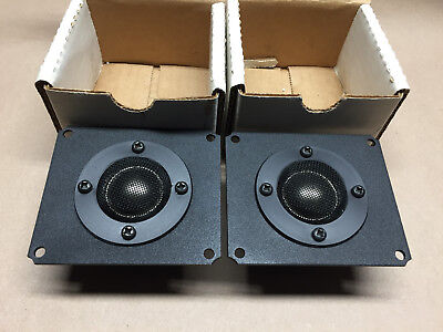 *PAIR, NOS* Audax DTW9x8T125 8 Ohm Tweeters *NEW IN BOX*