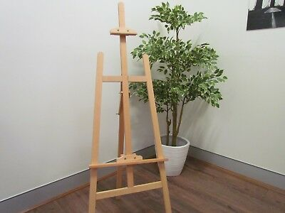 HARDWOOD Easel - High Quality for paintings and canvases