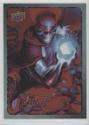 2015 Upper Deck Marvel Dossier Foil #24 Red Skull Non-Sports Card 0a3
