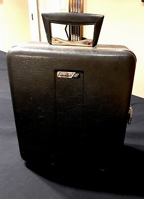 "Vintage ""The Original Travel Bar""  Executair 707 Mad Men SUPER! COMPLETE!"