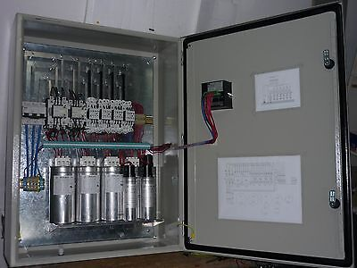 Automatic capacitor bank / three-phase / for power factor correction