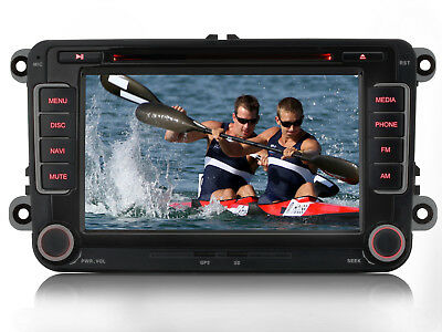 "Für VW Touran Polo Golf Tiguan Passat 7"" GPS DVD Navigation Autoradio BT DVR USB"