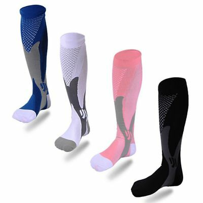 Fatigue Sports Leg Support Stretch Varicose Compression Socks Running Fitness