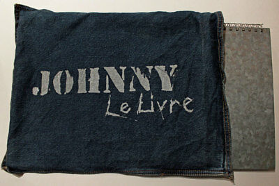 LIVRE + CD COLLECTOR Johnny Hallyday Edit. VADE RETRO dans pochette en jean