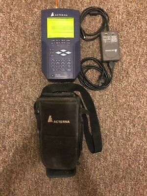 JDSU SDA-5000 CATV Stealth Digital Analyzer w/REVERSE SWEEP & QAM OPTION B 6MHZ