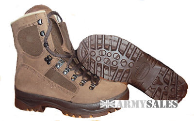 British Army MEINDL BROWN Desert Fox Assault/Combat Boots Various Sizes Grade1