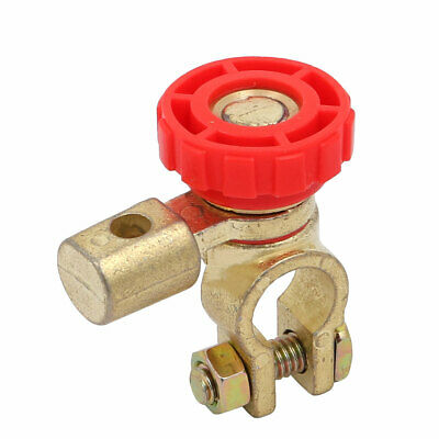 Battery Terminal Link Switch Quick Cut-off Disconnect Red for Car Truck Auto