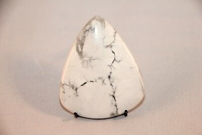 Natural Howlith, Howlite Cabochon, Edelsteine 45x38mm, 75ct. (1)