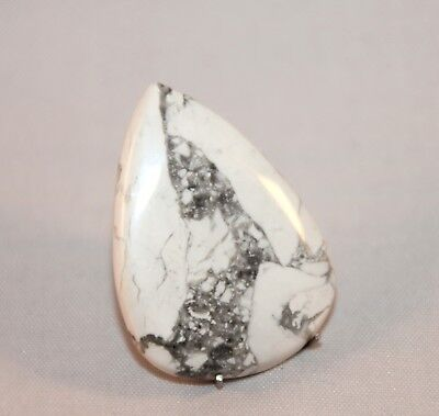 Natural Howlith, Howlite Cabochon , Edelsteine 37x27 mm, 50ct. (3)