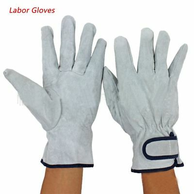 1pair Hard-wearing Driver Labor Gloves Hand Protection Work Safety Welding