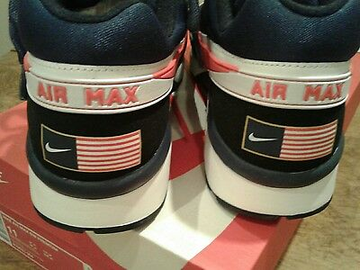 New In Box Nike Air Max Bw Premium Usa Olympic Black Crimson Blue 819523-064 6f7ed2b4f