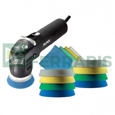 Rupes Lhr 75 E Electric Mini Random Orbital Polisher Bigfoot Kit Stf 240V Detail