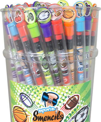 sports smencils gourmet scented pencils smencil lasts 2 years boys girls