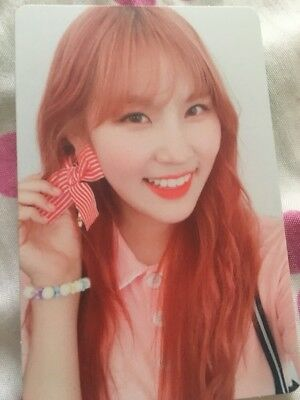 PRISTIN Yehana Official PHOTOCARD #2 2nd Mini Album SCHXXL OUT