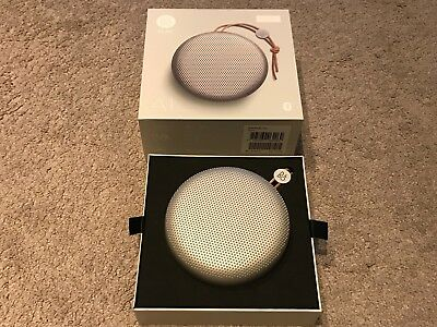 B&O PLAY by Bang & Olufsen Beoplay A1 Bluetooth Speaker - Natural Silver