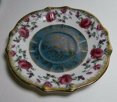 Vintage Napco IDD 240 Saucer - Hand Painted