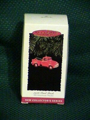 Hallmark ~ 1995 ~ 1956 Ford Truck ~ 1st All American Trucks series ~ free ship