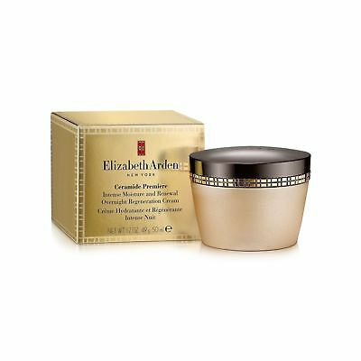 Elizabeth Arden CERAMIDE Premiere Intense Moisture OVERNIGHT CREAM New in Box