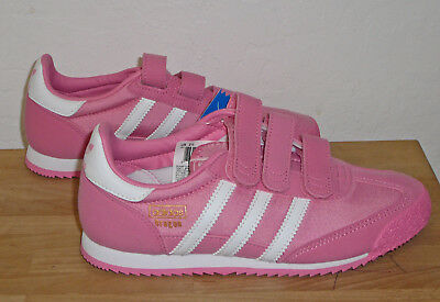 068b9f32f NEW ADIDAS DRAGON OG Girls Pink Shoes Sneakers Childrens Kids BB2495 ...
