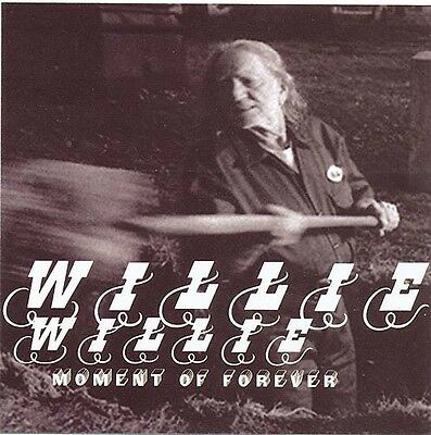 Willie Nelson Moment Of Forever RARE promo sticker '08