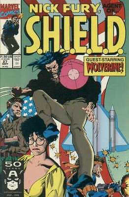 Nick Fury: Agent of SHIELD (1989 series) #27 in Near Mint condition
