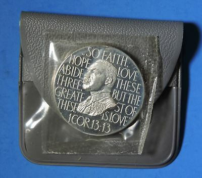 1964 Netherlands Civil Rights Act Martin Luther King JFK LBJ Proof Silver Medal