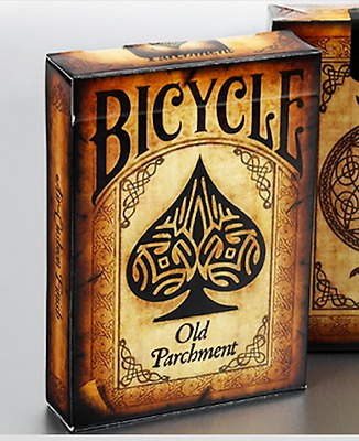 Bicycle Old Parchment Deck by Collectable Playing Cards and Murphy's Magic