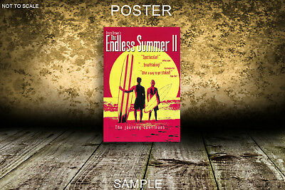 THE ENDLESS SUMMER V2 MOVIE POSTER A2,A1,61x91cm(24x36inch)