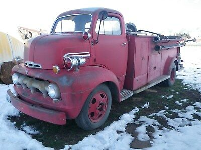 1951 Ford F Series  !951 Ford COE Fire Truck