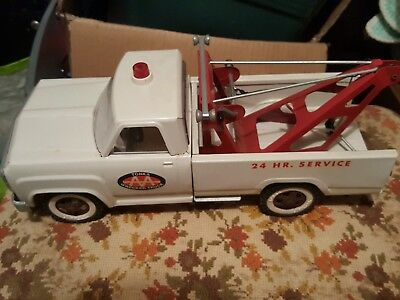 New In Box Vintage Tonka Aa Wrecker Tow Truck 1960's Vintage Rare Toy Steel