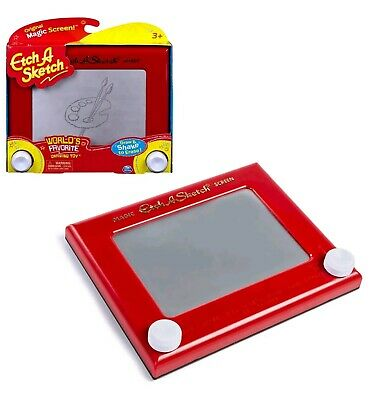 Etch - A - Sketch Classic | etchasketch | The Original Draw Shake Erase