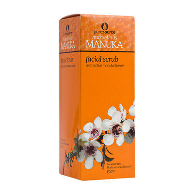 Puresource - Manuka Facial Scrub 80g (Product of New Zealand)