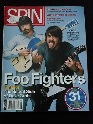 Spin Magazine, August 2005, Foo Fighters