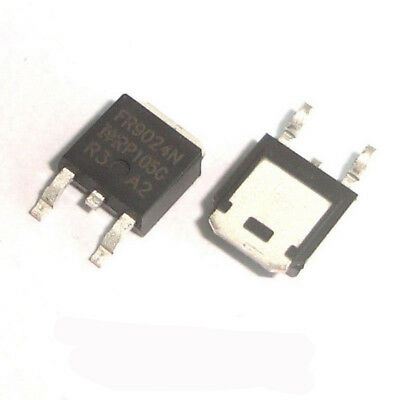 100 Pcs IRFR9024N TO-252 IRFR9024 FR9024N Power Mosfet