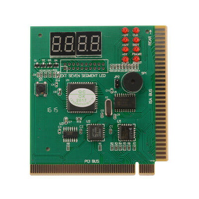 4-Digit Card PC Analyzer Diagnostic Motherboard POST Tester Checker PC AC1196