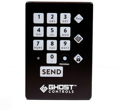 GHOST CONTROLS Premium Weather Resistant Wireless Keypad Automatic Gate Openers