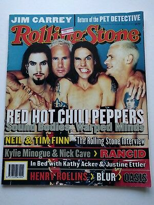 Rolling Stone Magazine #515 Nov95 Red Hot Chili Peppers