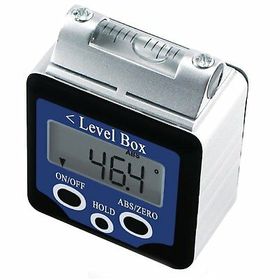 Digital 360° Spirit Level Angle Finder Gauge Inclinometer  w/ Magnets Box Type