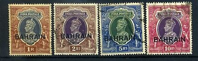 Bahrain 1938 good used higher values selection