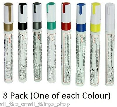 Permanent Universal Oil Paint Marker Pen for Rubber Glass Metal Tyres Bin Number