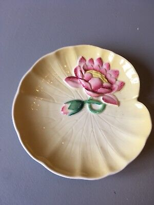 Beautiful Little Carlton Ware Water Lily Dish. No Chips Or Cracks
