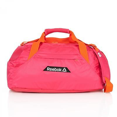 Reebok Womens Grip One Series Gym Bag Holdall Pink 30L