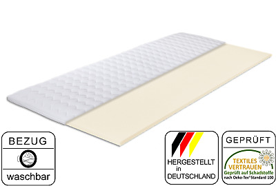 Matratzen-Aktuell® Komfortschaum-Topper Gina | MADE IN GERMANY | Höhe ca. 4,5 cm