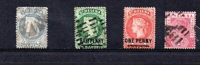 St Helena - sg 36.44.37.47.. - .USED. cat £13   .