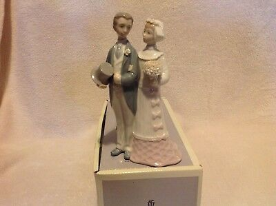 "LLADRO  Wedding Day "" Bride and Groom "" # 4808"
