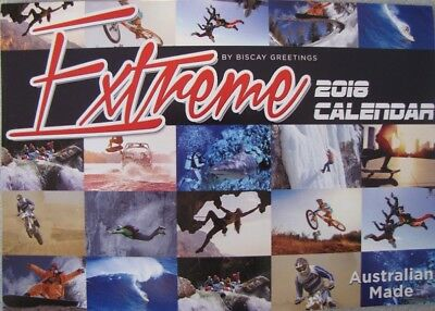 2018 Paperback Wall Calendar - Extreme
