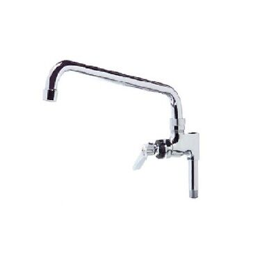 """New 12"""" Add On Faucet Unit - NSF - Compatible w/  Wall Mounted Pre-Rinse Faucet"""