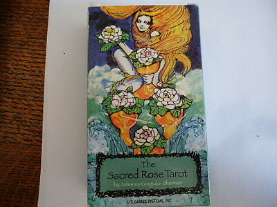 Sacred Rose Tarot Deck Medieval stained glass Kabbalah Tree of Life