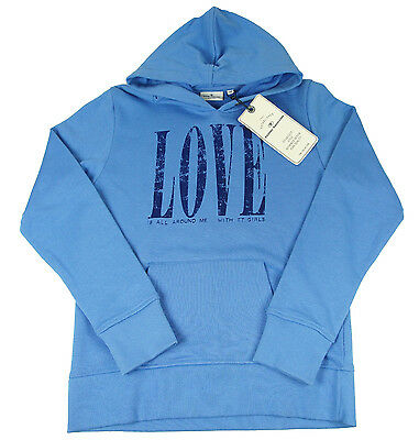 TOM TAILOR Hoody Children SweatHoodie Boy Blue Größe 152 Neu