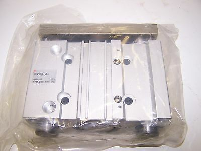 SMC MGPM50-25A Pneumatic Compact Guide Cylinder 50mm Bore 25mm Stroke New